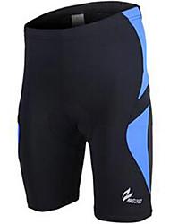 Calças Para Ciclismo Homens Moto Respirável Secagem Rápida Confortável Poliéster Cor Única Ciclismo/Moto Verão Amarelo Vermelho Azul