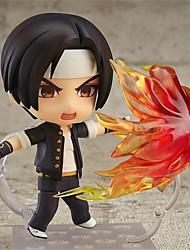 애니메이션 액션 피규어 에서 영감을 받다 킹 오브 파이터즈 Kyo Kusanagi PVC CM 모델 완구 인형 장난감
