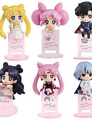 Anime Actionfigurer Inspireret af Sailor Moon Cosplay PVC 10 CM Model Legetøj Dukke Legetøj