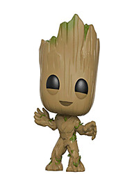 Anime Action Figures Guardians of the galaxy groot Inspired by Cosplay Cosplay PVC 10 CM Model Toys Doll Toy 1pc