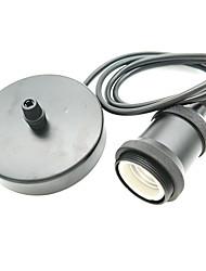 1ks černá e26 / e27 zásuvka na lampu vintage edison držák světla klasický retro edison lampa držák průmyslová žárovka pro 110 / 220v