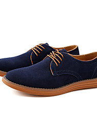 Men's Boots Formal Shoes Bullock shoes Leather Suede Spring Summer Fall Winter Wedding Office & Career Party & Evening WalkingFashion