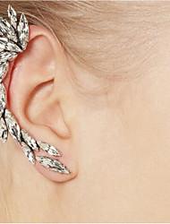 עגילי קליפס עגילי הגדר עיצוב מיוחד מותאם אישית Leaf Shape תכשיטים ל חתונה Party אירוע מיוחד יום הולדת ארוסים Christmas Gifts חבילה1