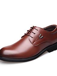 Homme Bottes chaussures Bullock Chaussures formelles Cuir Printemps Eté Automne Hiver Mariage Bureau & Travail Soirée & Evénement Marche