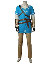 Inspirovaný The Legend of Zelda Cosplay Video Hra Cosplay kostýmy Cosplay šaty MódníTričko Vrchní deska Kalhoty Rukavice Taška Více