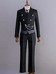 Inspirovaný Black Butler Abel Nightroad Anime Cosplay kostýmy Cosplay šaty Jednobarevné Dlouhý rukávVesta Halenka Vrchní deska Kalhoty