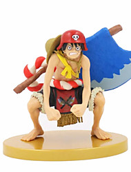 Anime Čísla akce Inspirovaný One Piece Monkey D. Luffy PVC 18 CM Stavebnice Doll Toy