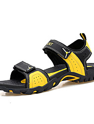 Unissex Sandálias Gladiador Solados com Luzes Conforto Couro Ecológico Primavera Verão Casual Gladiador Solados com Luzes Conforto Velcro