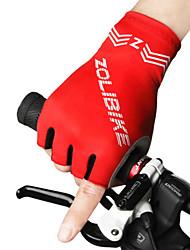 כפפות ספורט/ פעילות יוניסקס כפפות רכיבה אביב קיץ כפפות אופניים לביש נושם עמיד מגן תומך זיעה בלי אצבעות כפפות רכיבה