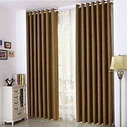 Ready Made Room Darkening Curtains Drapes Two Panels For Bedroom