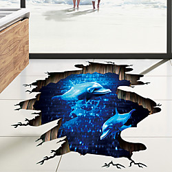 Decorative Wall Stickers / Floor Stickers - 3D Wall Stickers Landscape / 3D Living Room / Bedroom /