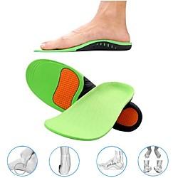 1 Paar orthopädische Schuhe Sohleneinlagen für Schuhe Fußpolster x / o Typ Beinkorrektur Plattfußgewölbe Sportschuheinlagen Lightinthebox