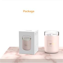 280ml Ultraschall Luftbefeuchter Kerze romantisches weiches Licht USB ätherisches Öl Diffusor Auto Reiniger Aroma Anion Nebel Maker Lightinthebox