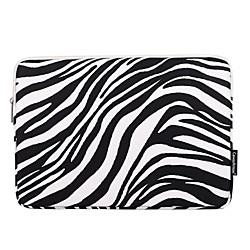 11,6 12 13,3 14,1 15,6 Zoll Laptoptasche Hülle Tasche wasserdicht stoßfest Universal Zebradruck für MacBook / Oberfläche / Xiaomi / HP / Dell / Samsung / Sony etc. Lightinthebox