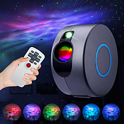 Star Projector Laser Galaxy Starry Sky Projector  LED Night Light with Remote Night Star Projector w