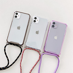 Case For Apple iPhone 12 / iPhone 12 Mini / iPhone 12 Pro Max Shockproof Back Cover Transparent TPU