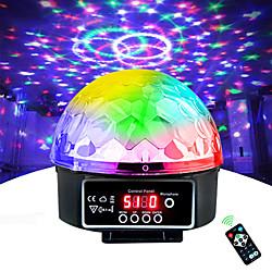 Stage Lamp Led Disco Light Laser 9 Colors 21 Modes DMX DJ Sound Party Light Christmas Projector Soun