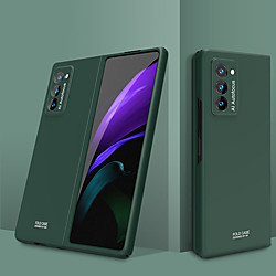 Case For Samsung Galaxy Galaxy Z Fold 2 Shockproof / Ultra-thin Full Body Cases Solid Colored TPU