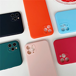 Case For Apple iPhone 12 / iPhone 12 Mini / iPhone 12 Pro Max Shockproof Back Cover Solid Colored TP