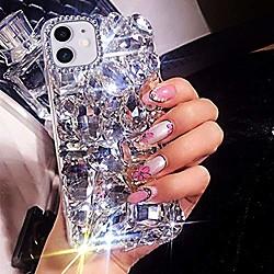 case for iphone 11 case 3d glitter sparkle bling case luxury shiny crystal rhinestone diamond bumper