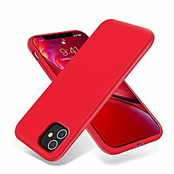 iphone 11 case,ultra slim fit iphone case liquid silicone gel cover with full body protection anti-s