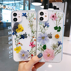 Case For iPhone 12 / iPhone 12 Mini / iPhone 12 Pro Max Pattern Back Cover Transparent / Flower TPU
