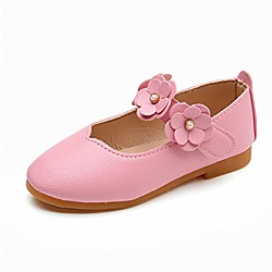 Toddler girls flat party dress shoes bowknot princess wedding shoes mary jane ballerina flats rosered 9.5 toddler