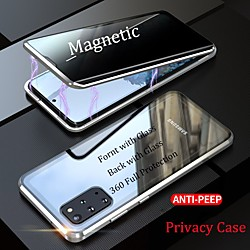 Case For Samsung Galaxy S20 Plus / S20 Ultra / S20 Shockproof / Anti peep Full Body Cases Solid Colo