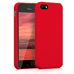 tpu silicone case compatible with apple iphone se (1.gen 2016) / 5 / 5s - soft flexible rubber prote