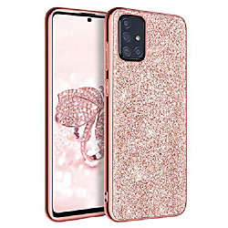 samsung a51 case, galaxy a51 case, [only fit 5g] slim glitter sparkly flexible soft tpu protective s