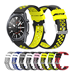 Watch Band for Gear Sport / Gear S3 Frontier / Gear S3 Classic Samsung Galaxy Sport Band Silicone Wr