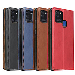 Case For Samsung Galaxy S20 Plus / S20 Ultra / S20 Shockproof Full Body Cases Solid Colored PU Leath