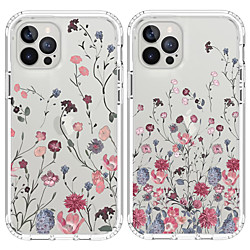 Case For Apple iPhone 12 / iPhone 12 Mini / iPhone 12 Pro Max Shockproof Back Cover Flower TPU