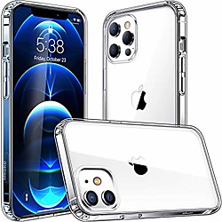 compatible with iphone 12 case, iphone 12 pro case clear cover for 6.1 inch 2020