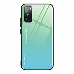 galaxy s20 fe case,galaxy s20 fe 5g case, tempered glass cases for women girls boys, gradient patter