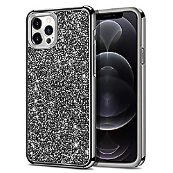 compatible with iphone 12 pro max case bling rhinestone sparkly crystal diamond shockproof handmade