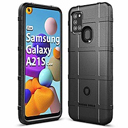 galaxy a21s case samsung a21s case heavy duty shock absorption phone cases impact resistant protecti