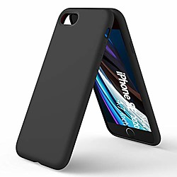 liquid silicone case compatible with iphone se(2020), iphone 7/8 slim liquid silicone full covered s