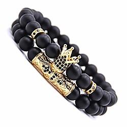 Image of braccialetto di guarigione chakra, braccialetto di pietra naturale di roccia lavica 8mm, bracciali di perle di pietra yoga, braccialetto diffusore di oli essenziali, braccialetto elastico regolabile