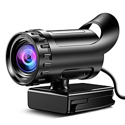 Webcam HD Desktop Laptop PC Web Camera 4k with Microphone USB Plug and Play Teaching Live Conference