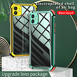 Four Corners Drop Resistance Clear Case For Apple iPhone 12  11 SE 2020 Shockproof Case Back Cover C