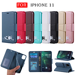 Case For Apple iPhone 11 / iPhone XR / iPhone 11 Pro Card Holder / Shockproof / Magnetic Full Body C