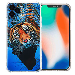 Case For Apple iPhone 12 / iPhone 11 / iPhone 12 Pro Max Shockproof Back Cover Animal TPU
