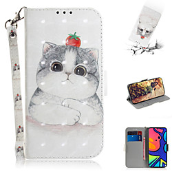 Case For Samsung Galaxy S20 Plus / S20 Ultra / S20 Shockproof Full Body Cases Animal / Cartoon PU Le
