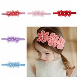 1 Stück Baby / Kleinkinder Mädchen Süß Blumen Blumenstil Haarzubehör Weiß / Blau / Purpur Einheitsgröße Lightinthebox