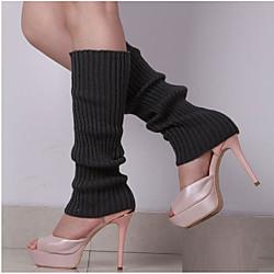 1 Paar Damen Socken Solide warm halten Einfacher Stil Baumwolle EU36-EU46 Lightinthebox