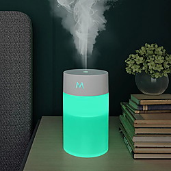 260ml USB-Luftbefeuchter Aromatherapie-Gerät Ultraschall Diffusor ätherisches Öl Haushalt tragbares Auto Schlafzimmer Lightinthebox