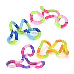 2 Stück Wicklung Zappeln Spielzeug Gewirr Gehirn entspannen Verwicklungen Spielzeug Verwickeln Entspannung Therapie Verwicklung Braintools Stellen Sie sich Zappeln Spielzeug für Kinder Erwachsene vor Lightinthebox