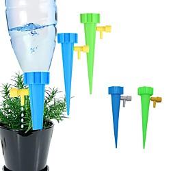 Image of strumento di irrigazione a goccia automatica picchi kit di irrigazione automatica del giardino di piante da fiore dispositivo di autoirrigazione dell'acqua regolabile Lightinthebox