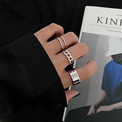 ring set female seven-piece set wild ring niche design Lightinthebox